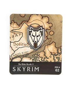 Skyrim The Elder Scrolls V Map Marker Pin Series Solitude #02 Limited Edition