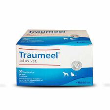 HEEL Traumeel ad us vet 5ml (VET) German Version 50 Amp