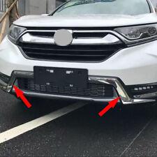 fit Honda CR-V CRV 2017 2018 ABS Chrome Front Grille Lower Molding Cover Trim