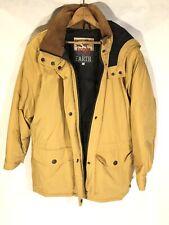 Herman Kay Down Winter Coat Mens Large Mustard Yellow