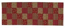 TABLERUNNER BALSAM AND BERRIES RED GREEN BROWN CREAM 13 X 54 PARK DESIGNS