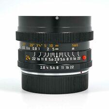Совершенно новый неиспользованный Leica Elmarit-R 24 мм F2.8 ROM широкоугольный объектив 11331 Leitz