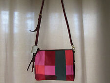 Fossil Emma Multi Small Soft Leather Shoulder/Crossbody Bag Really Nice! NWT