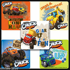 Chuck & Friends Stickers x 5 - Party Favours - Birthday Trucks - Tonka Stickers