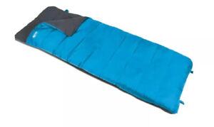 Kampa Kip Annecy Lux XL 3 Season X Large Single Sleeping Bag. Camping