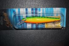 "Salmo Whitefish SW13DR-GT Green Tiger  Deep Runner 5 1/4"" 3/4 oz Lure"