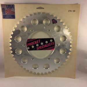 Husaberg 350/499/501/600 1990-1999 Rear Sprocket 50 Tooth Aluminum 174