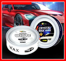 Antiscratch White Car Wax Shine Polish Coat  Sealer Polishing Repair Care Wiping