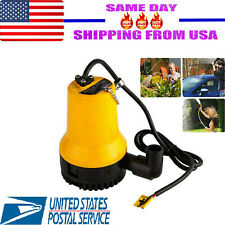 12V Submersible Water Pump 1620Gph 6000L/H Clean Clear Dirty Pool Pond Flood