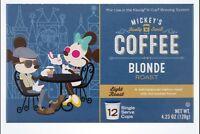 Disney Parks Mickeys Really Swell Coffee Blonde Light Roast 12 Svgs Kcups Kuerig