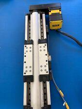 Parker Daedal 404200xrmsd2h7 Linear Slide Withbe230gj Nfln Motor Dust Shield Miss