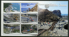 NZ 2018 MNH Reconnecting New Zealand 6v M/S Bridges Trains Architecture Stamps