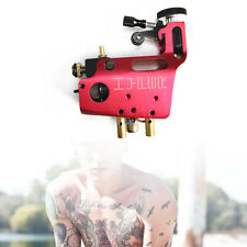 Red CNC Rotary Tattoo Machine Gun Aluminium Stigma Hyper V3 for Shader Liner UPS