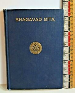 Vintage The Bhagavad Gita or The Message of the Master Small Book 1911