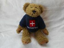 "TEDDY BEAR 10"" TALL LIKE SALCO HARLOW - MADE IN GERMANY? SWISS SWEATER"