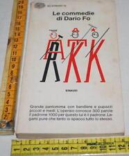 Le commedie di Dario Fo 3 III- Einaudi Gli Struzzi - libri usati