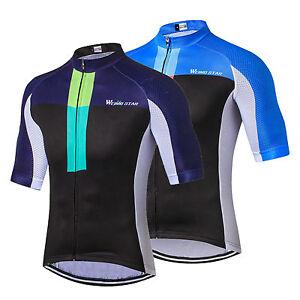 Star Team Racing Bike Pro Men's Bicycle Half Sleeve Cycling Jersey Shirts S-3XL