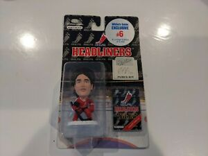 "Patrick Roy NHLPA limited hockey goalie  3"" Action Figure MIP"