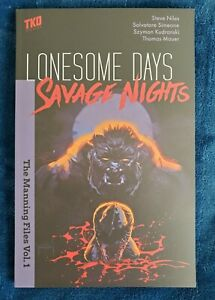 Lonesome Days, Savage Nights TKO Oversized Paperback (TPB, Steve Niles)