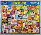 White Mountain FOODS WE LOVE #1599 Jigsaw Puzzle 1000 24x30
