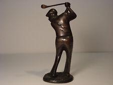 Bronze Golfer Figurine