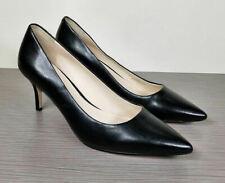 Cole Hann Vesta Pointy Toe Pump, Black Leather, Womens Size 7.5 B