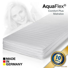 AquaFlex® Comfort Plus Premium MEMORY Kaltschaum Matratze 140x200 H2  PrüfSiegel