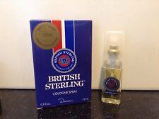 Dana* 0.5 Oz Cologne Spray British Sterling Great Gift for Men Fragrance Boxed