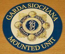 Garda siochana / Autocollant Vinyle police irlandaise.