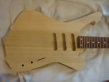 Unfinished RG Jem Guitar Body - Fireman - SSS- Fits RG Necks