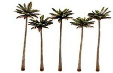Woodland Classics TR3598 Trees 'Palm Trees' (5 Pk) N,HO,O Scale Free T48 Post