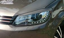 RDX Scheinwerferblenden VW Touran Facelift 2011+ 1T GP2 / Caddy Böser Blick