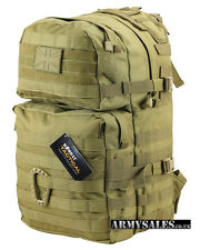 Tactical Desert COYOTE Molle 40L Assault Pack by Kombat UK - Backpack, Rucksack