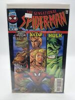 The Sensational Spider-Man #15 April 1997 Marvel Spiderman Comic Book