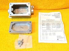 "*NEW* APPLETON EFDC150-A-Q 1/2"" HUB HEAVY DUTY EXPLOSION PROOF ENCLOSURE & COVER"