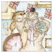'Victor's Vintage' Funny Cat Greeting Card Linda Jane Smith Humorous Greetings