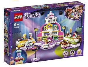 Lego@ Friends Baking Competition (41393) -Fast Dispatch Free P&P