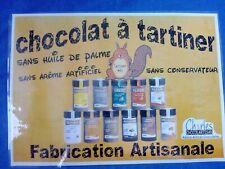 Chocolat à tartiner sans huile de palme. Pâte à tartiner