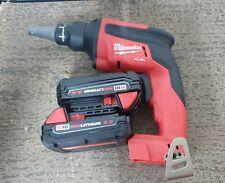 Milwaukee 2866-22CT FUEL Compact Drywall Screw Gun Kit (2) 2.0 Ah Batteries New