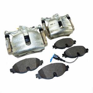 pair brake calipers front 312mm VW Golf Mk7 Touran 5T Audi A3 8V Seat Leon 5F