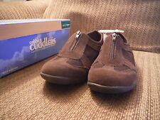 NEW Cobbie Cuddlers Soft Leather 11M Brown Della Casual Shoes