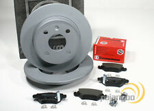 Opel Astra G - Zimmermann Bremsscheiben Bremsen Bremsbeläge für hinten