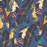Cayenne - Speckled Feathers - Navy Blue - Quilting Fabric