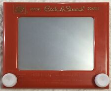 Vtg Ohio Art Etch-A-Sketch Magic Screen Art - Model 505 World of Toys Drawing