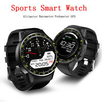 Bluetooth Andriod Wear Smart Watch Outdoor GPS SIM GSM Sports For iPhone Samsung