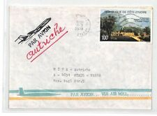 CA235 1978 Ivory Coast Airmail Cover MISSIONARY VEHICLES PTS