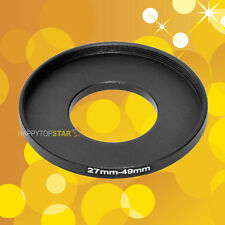 27mm to 49mm 27-49 mm Male to Female Step-Up Lens Coupling Ring Adapter Adaptor
