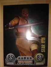 Force Attax Star Wars Serie 1 Star Jedi Nr.155 Sammelkarte selten TOP
