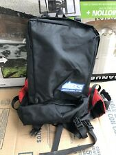 ABS LAWINEN AIRBAG SYSTEM backpack black red USED SEE PICS THANKS!