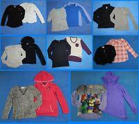 16 Piece Lot Nice Clean Girls Size 7 Fall School Winter Everyday Tops 2w94